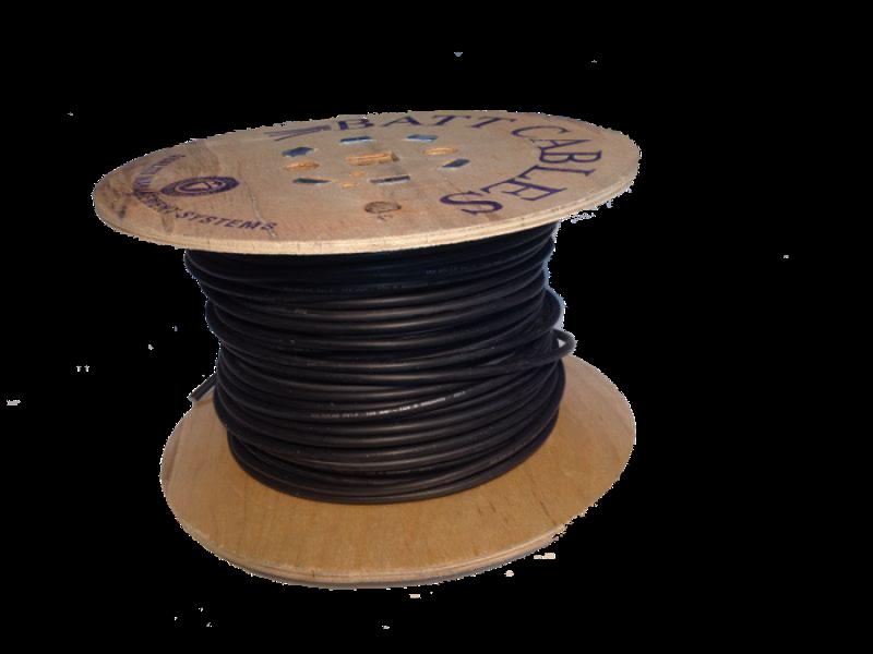 Solārais kabelis 100m 6 mm2 , 100m iepakojums.