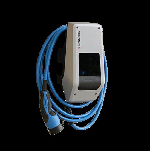 AMTRON Compact E 3.7kw/11kw C2 mājas uzlādes stacija